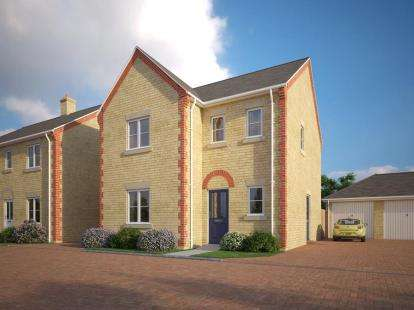 3 Bedrooms Detached House for sale in Off Richmond Road, Donwham Market, Norfolk