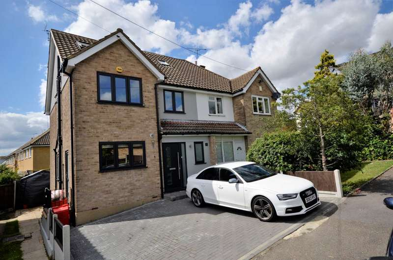 5 Bedrooms Semi Detached House for sale in Raven Lane, Billericay