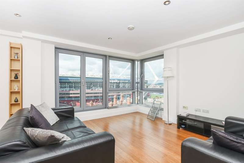 2 Bedrooms Apartment Flat for sale in Golate Street, Cardiff