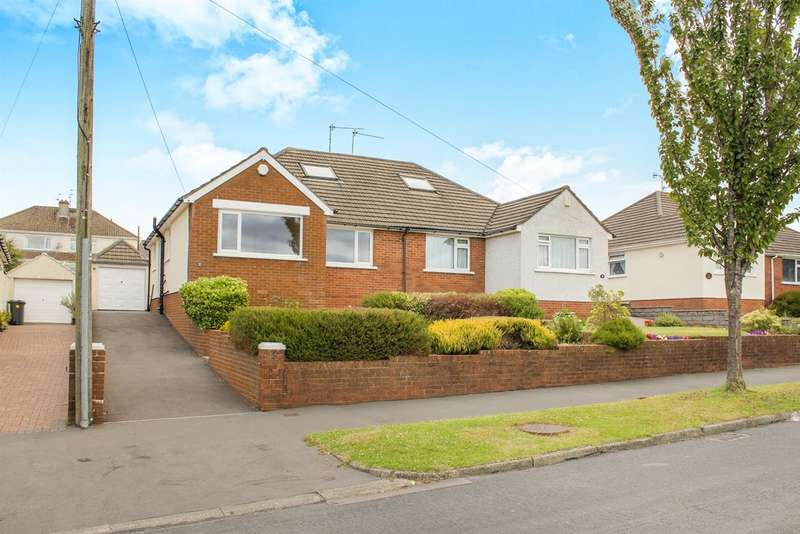 2 Bedrooms Semi Detached Bungalow for sale in Heol Isaf, Rhiwbina, Cardiff