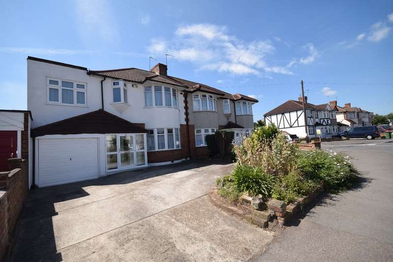4 Bedrooms Semi Detached House for sale in Parsonage Manorway, Belvedere, Kent, DA17