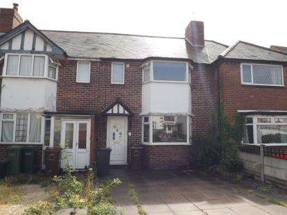 3 Bedrooms Terraced House for sale in Howard Road, Solihull, West Midlands