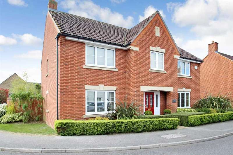 4 Bedrooms Detached House for sale in Bull Drive, Grange Farm, Kesgrave, Ipswich