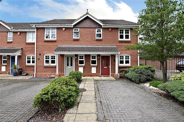 3 Bedrooms Terraced House for sale in Mitford Court, Mitford Close, Three Mile Cross, Reading, RG7
