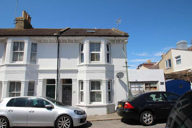 3 Bedrooms End Of Terrace House for sale in Albion Street, Portslade, East Sussex, BN41 1DQ