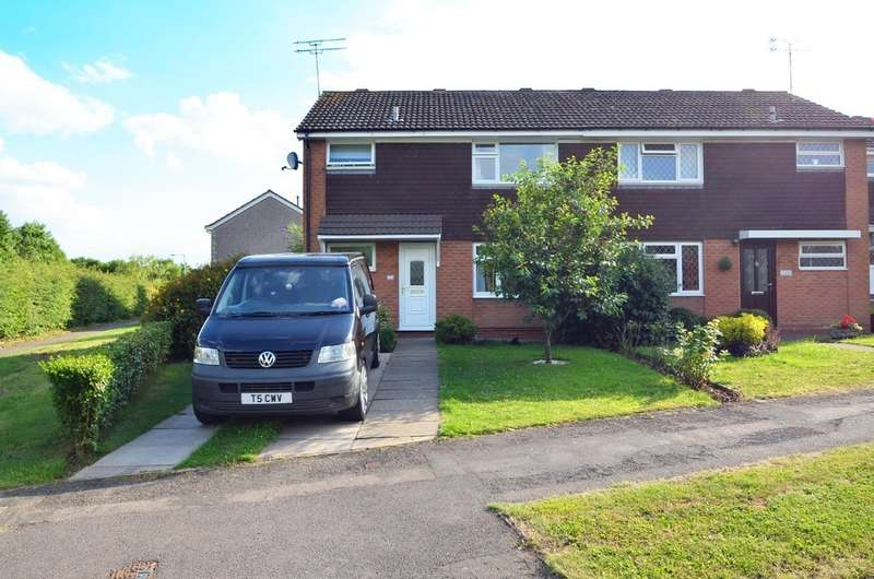 3 Bedrooms Semi Detached House for sale in Hawlands, Brownsover, Rugby