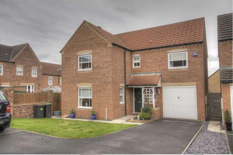 4 Bedrooms Detached House for sale in Ewehurst Road, Dipton, Stanley, DH9