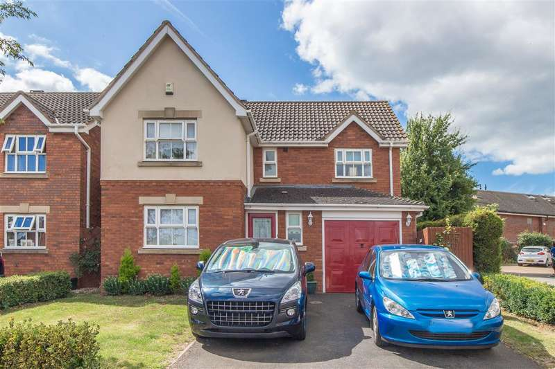 4 Bedrooms Detached House for sale in Cornfield Way, Burton Latimer