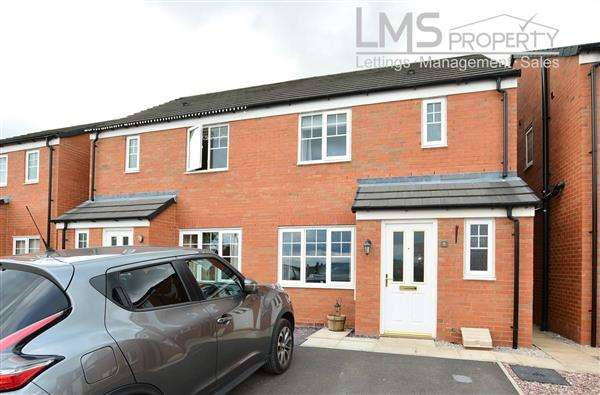 3 Bedrooms Semi Detached House for sale in Brimstone Road, Winsford
