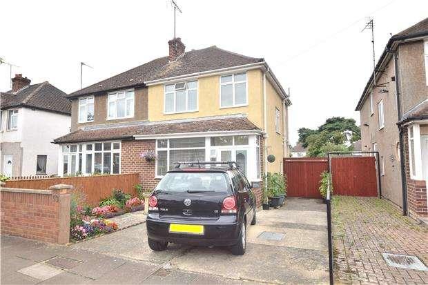 2 Bedrooms Semi Detached House for sale in Merriville Road, CHELTENHAM, Gloucestershire, GL51 8JG