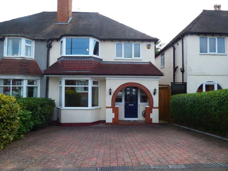 3 Bedrooms Semi Detached House for sale in Park Hill Road, Harborne, Birmingham, B17 9SJ