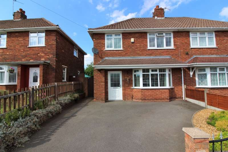 3 Bedrooms Semi Detached House for sale in Mountbatten Road, Bentley