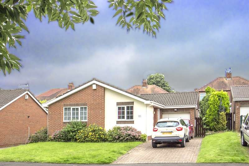 3 Bedrooms Bungalow for sale in Kingswell, Morpeth