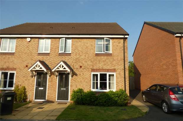 3 Bedrooms Semi Detached House for sale in Sargasso Lane, Swans Bridge, Nuneaton, Warwickshire