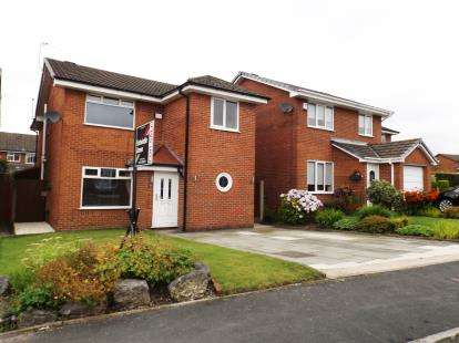 4 Bedrooms Detached House for sale in Upper Lees Drive, Westhoughton, Bolton, Greater Manchester, BL5