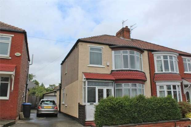3 Bedrooms Semi Detached House for sale in Westminster Road, Middlesbrough, North Yorkshire
