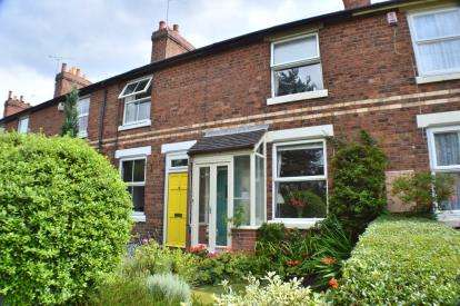 2 Bedrooms Terraced House for sale in Chesterfield Road, Lichfield