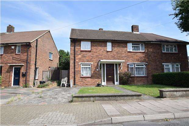 2 Bedrooms Semi Detached House for sale in Brow Crescent, ORPINGTON, Kent, BR5