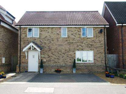 4 Bedrooms Detached House for sale in Beck Row, Bury St. Edmunds, Suffolk