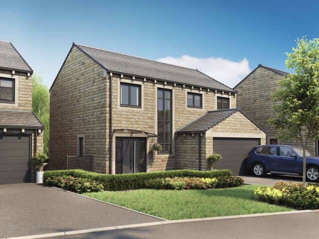 4 Bedrooms Detached House for sale in The Delph Pennine Gardens, Upperthong, Holmfirth, HD9