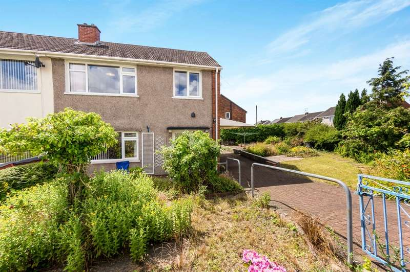 3 Bedrooms Semi Detached House for sale in Hawthorne Avenue, Gorseinon, Swansea
