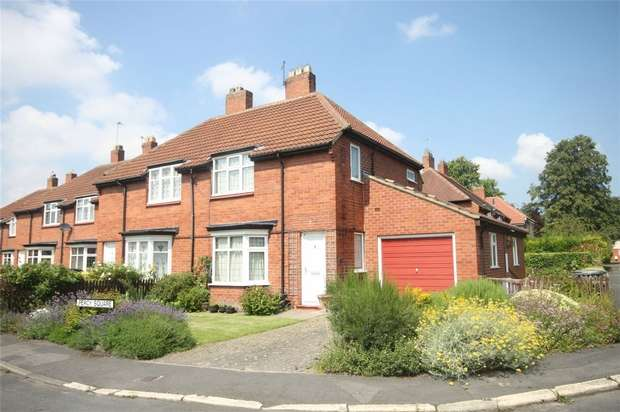 3 Bedrooms Semi Detached House for sale in Percy Square, Merryoaks, Durham City