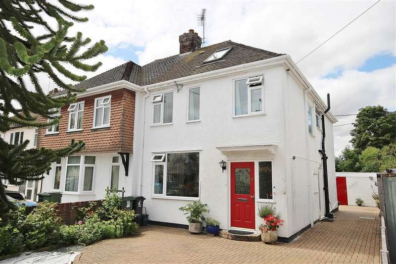 4 Bedrooms Semi Detached House for sale in Sellwood Road, Abingdon-on-Thames, OX14