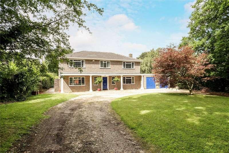 5 Bedrooms Detached House for sale in Redwood Lane, Medstead, Alton, Hampshire, GU34