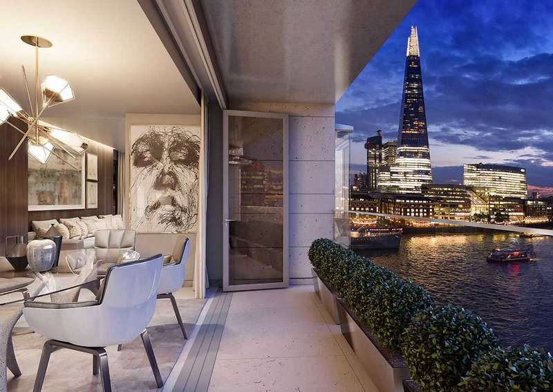 2 Bedrooms Apartment Flat for sale in Landmark Place, Tower Bridge, London