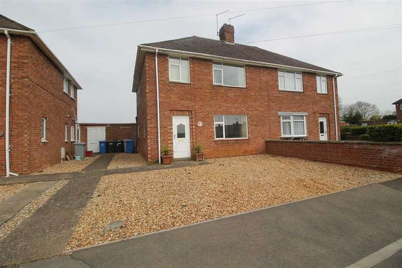3 Bedrooms Semi Detached House for sale in The Crescent, Burton Latimer