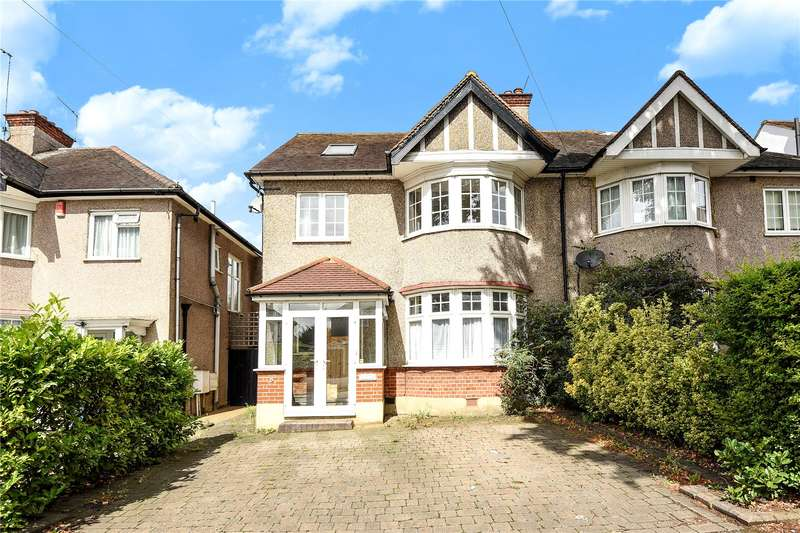 4 Bedrooms Semi Detached House for sale in Headstone Lane, Harrow, Middlesex, HA2