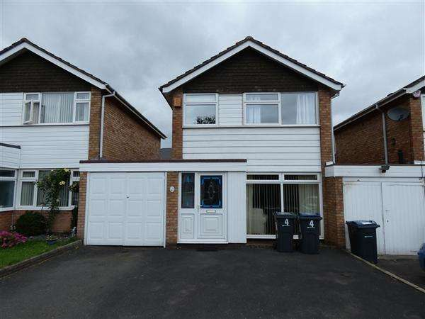 3 Bedrooms Detached House for sale in Silverlands Close, Hall Green, Birmingham