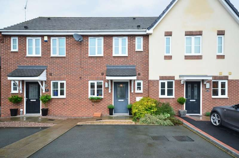 2 Bedrooms Terraced House for sale in Warners Drive, Weston Coyney, ST3 6PX