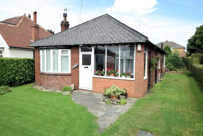 3 Bedrooms Detached Bungalow for sale in Scalby Avenue, Scarborough, North Yorkshire YO12 6HW