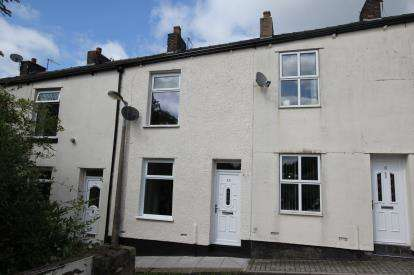2 Bedrooms Terraced House for sale in Claybank Terrace, Mossley, Greater Manchester
