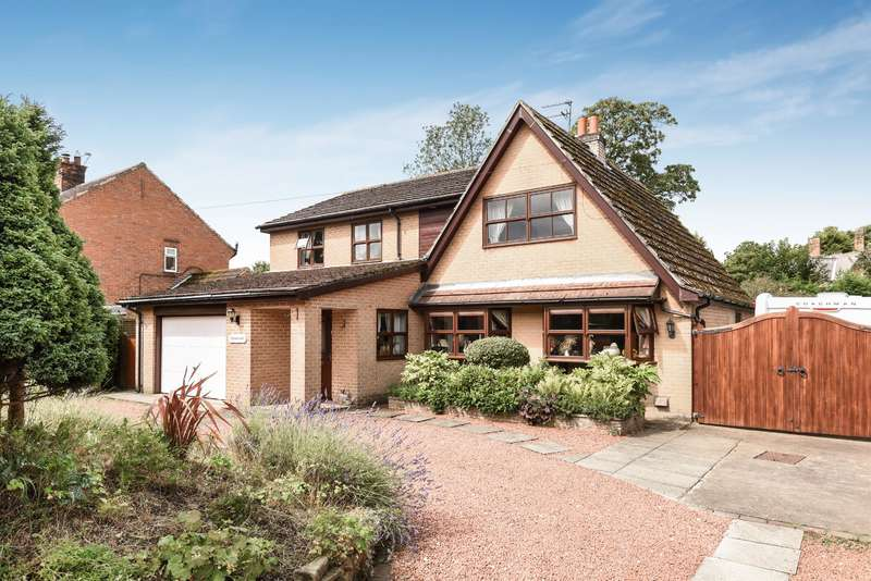 4 Bedrooms Detached House for sale in Monk Green, Alne, York, YO61 1RY