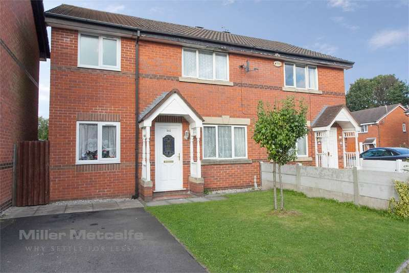 3 Bedrooms Semi Detached House for sale in Brentwood Drive, Farnworth, Bolton, BL4