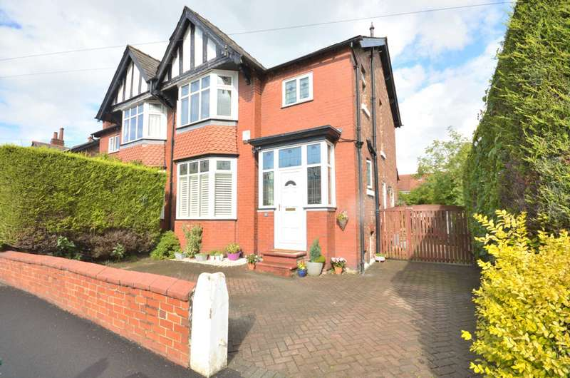 3 Bedrooms Semi Detached House for sale in MAPLE ROAD, Bramhall