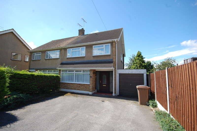 3 Bedrooms Semi Detached House for sale in Plymouth Road, Old Springfield, Chelmsford, CM1