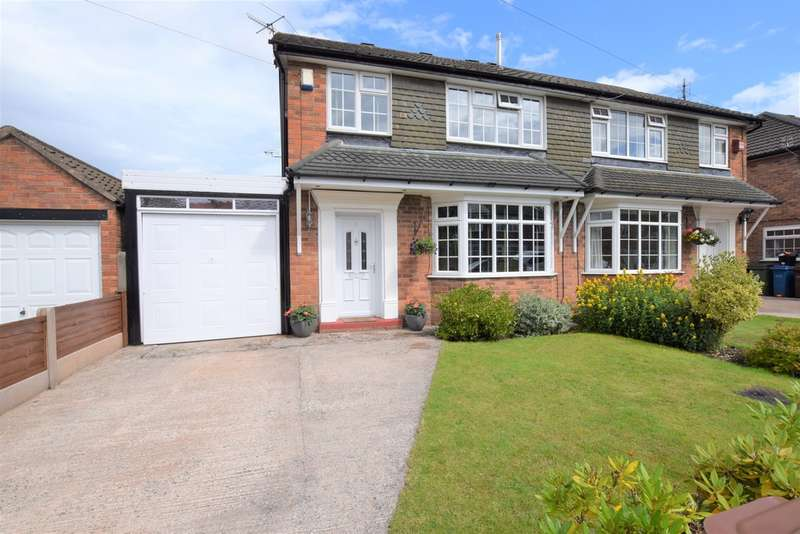 4 Bedrooms Semi Detached House for sale in Blythe Avenue, Bramhall