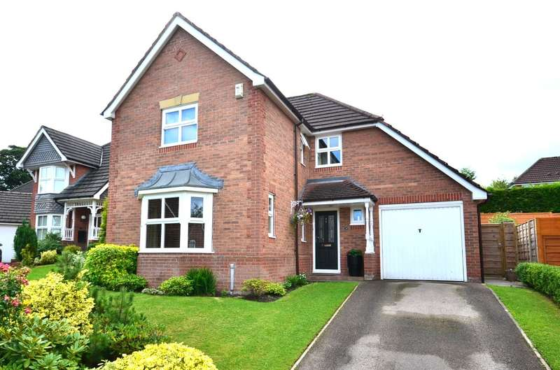 4 Bedrooms Detached House for sale in Beverley Way, Tytherington, Macclesfield