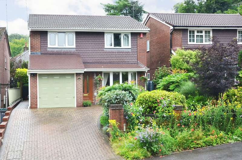 4 Bedrooms Detached House for sale in Roseacre Grove, Lightwood, ST3 7HR