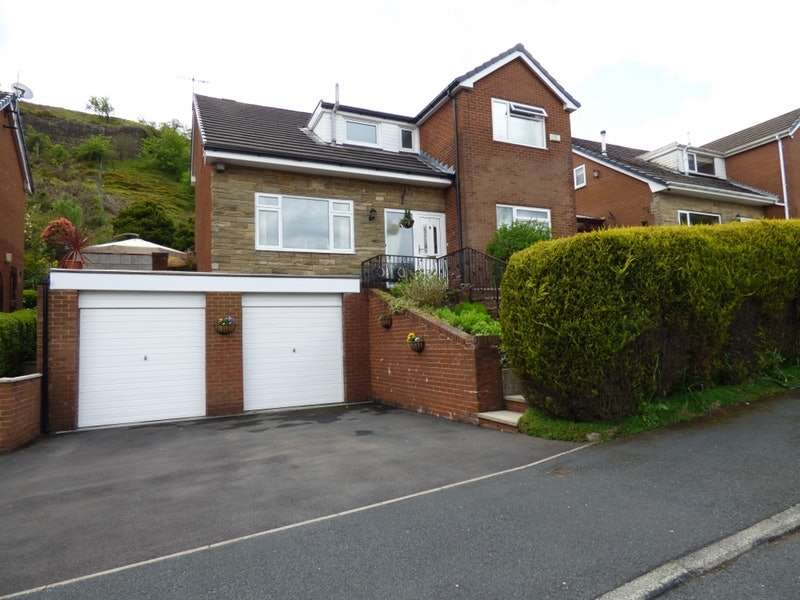 4 Bedrooms Detached House for sale in Stonely Drive, Walsden, Todmorden, West Yorkshire, OL14