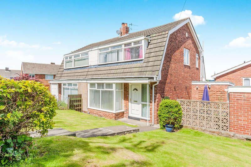 3 Bedrooms Semi Detached House for sale in Beda Hill, Blaydon-On-Tyne, NE21