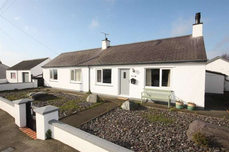 3 Bedrooms Detached Bungalow for sale in Hafan, Lon Amlwch, Rhosybol