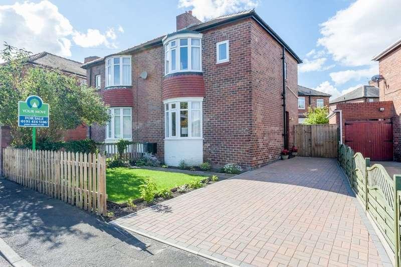 3 Bedrooms Semi Detached House for sale in Naylor Avenue, Winlaton Mill, Blaydon-On-Tyne, NE21