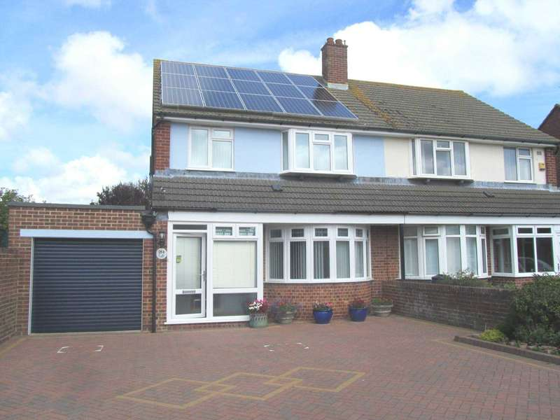 3 Bedrooms Semi Detached House for sale in Ringwood Road, Eastbourne