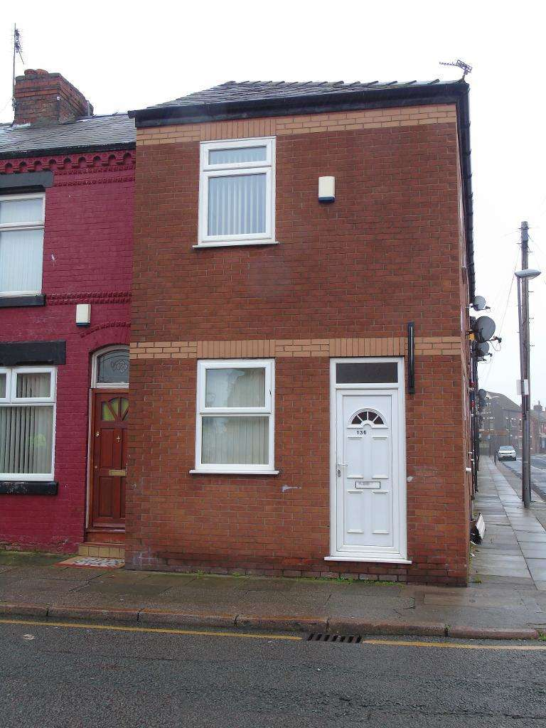 2 Bedrooms End Of Terrace House for sale in Goodison Road, Liverpool, L4 4EP