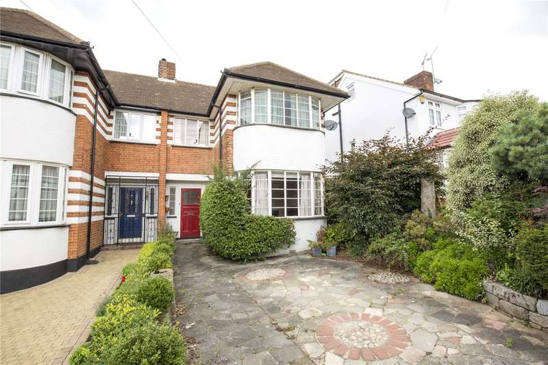 3 Bedrooms Semi Detached House for sale in Summit Way, Southgate, London, N14
