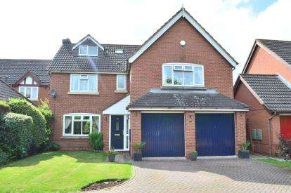 6 Bedrooms Detached House for sale in Coppice Grove, Lichfield, Staffordshire